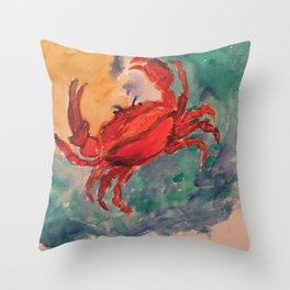 Cancer, the astrological sign Throw Pillow