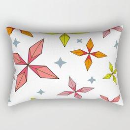Origami Stars Rectangular Pillow