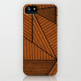Triangle patten iPhone Case