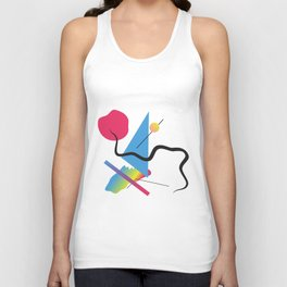 Just a little time Unisex Tank Top