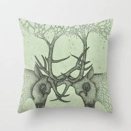 Into the Spring Throw Pillow