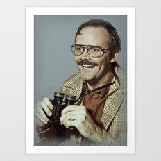 i.am.nerd. :: danforth f. Art Print