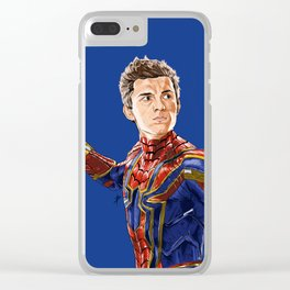 SPIDEY Clear iPhone Case