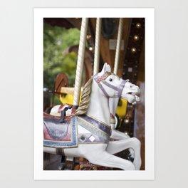 Carousel Horse, Paris Art Print