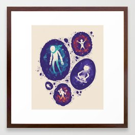 Personal Space Framed Art Print