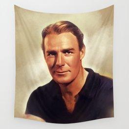 Randolph Scott, Hollywood Legend Wall Tapestry