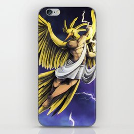 Zapdos iPhone Skin