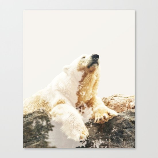 Bear a Charmed Life #society6 #decor #buyart Canvas Print