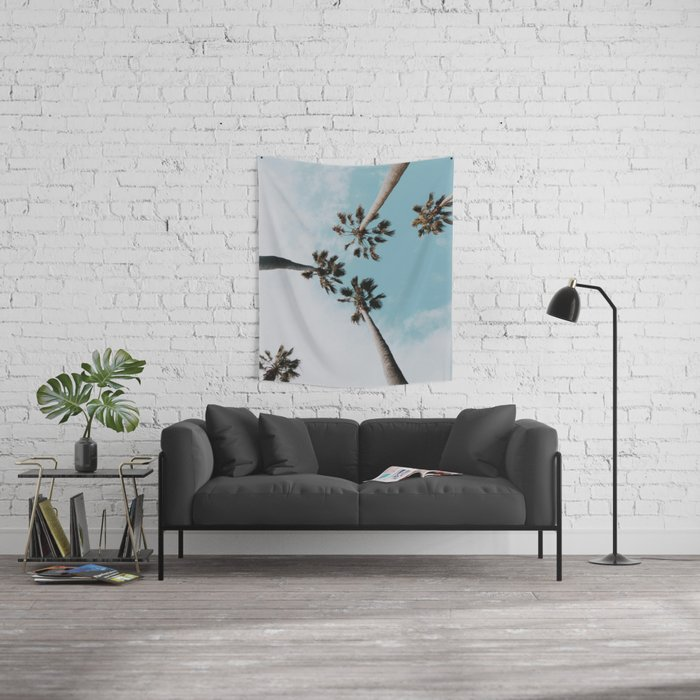 Palm Trees XI Wall Tapestry