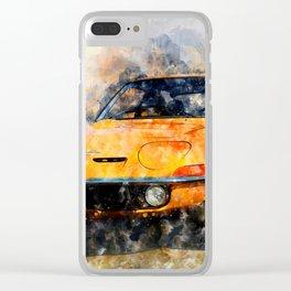 Opel GT Clear iPhone Case