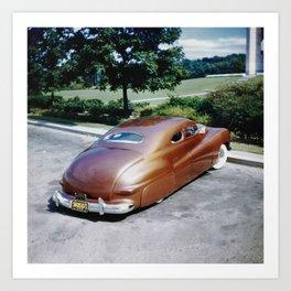 Jack Stewart '41 Coupe Art Print