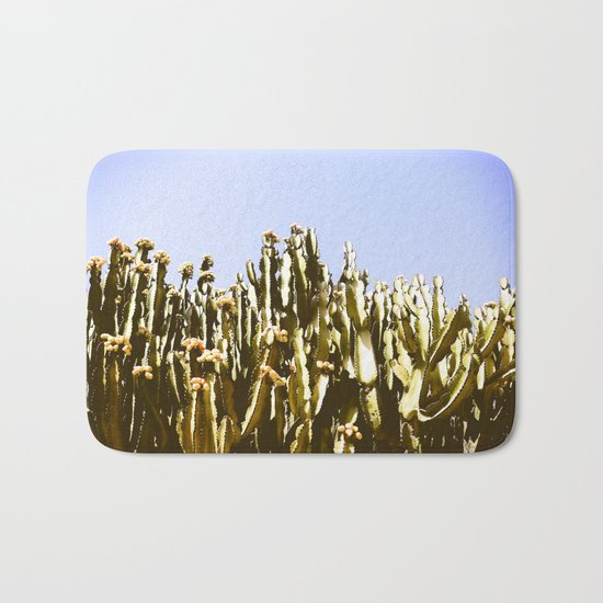 Sticky Cacti Bath Mat