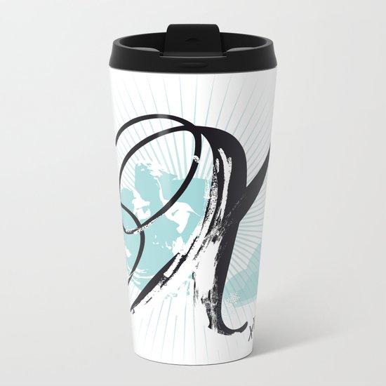 X like Xmas… Metal Travel Mug
