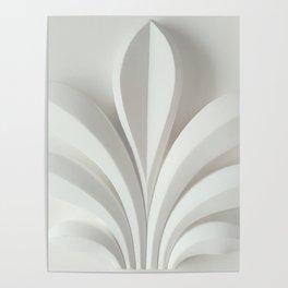 White sculpture Poster