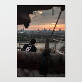 Catching sunsets Canvas Print