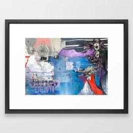 Information Exchange Framed Art Print
