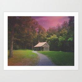 Smith House Art Print