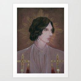 Reylo - White Bishop Art Print