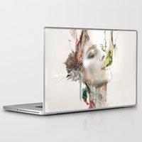 archan nair Laptop & iPad Skins featuring Morning Chorus by Archan Nair