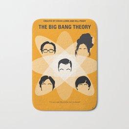 No196 My The Big Bang Theory minimal poster Bath Mat