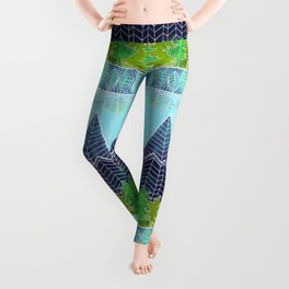 Magical Mountain Forest Leggings