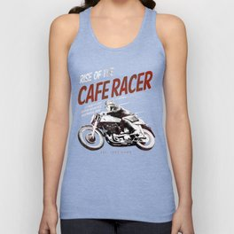 Rise of the Cafe Racer II Unisex Tank Top