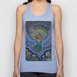Hummingbird & Cactus - Beija Flor III Unisex Tank Top