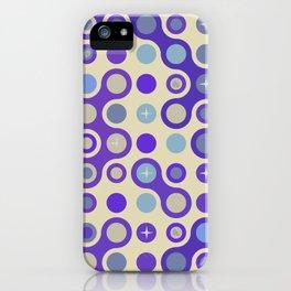 Retro pattern N2 iPhone Case