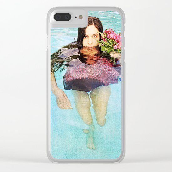 She Realized People Are Not Always What They Appear to Be Clear iPhone Case