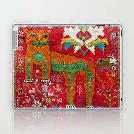 Antique Persian Hunting Rug With Lion Print Laptop & iPad Skin
