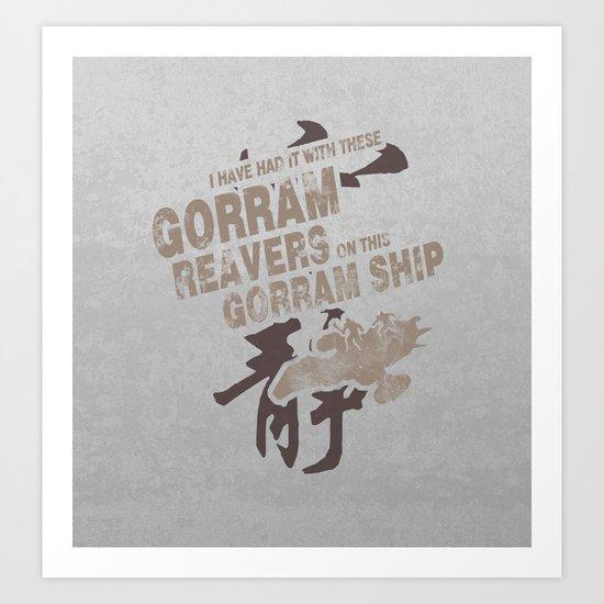 Firefly and Serenity: Gorram It! Art Print
