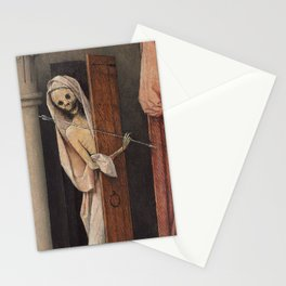 Hieronymus Bosch - Death And The Miser. Stationery Cards
