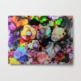 Billowy Flowers Metal Print