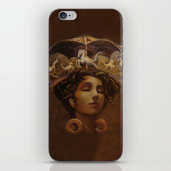 Brass Ring Dream iPhone & iPod Skin