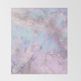 Iridescent Shadows Marble Throw Blanket