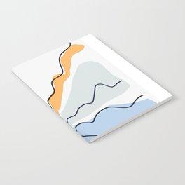 Minimalistic Landscape II Notebook