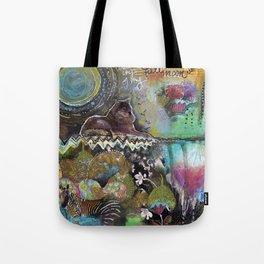 Full Moon River Tote Bag
