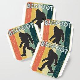 Vintage Retro Old School Big Foot Coaster