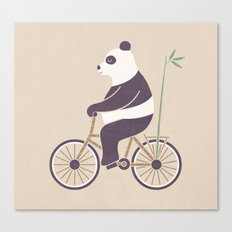 My Bamboo Bicycle Canvas Print
