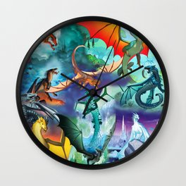 Wings Of Fire Character Wall Clock