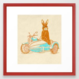 Hare Potter Framed Art Print