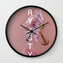 HARRY STYLES - Album Artwork with name Wall Clock