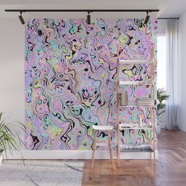Marbled Pastel Wall Mural
