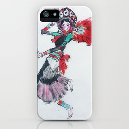 GIRL DANCING iPhone Case