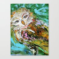 hedwig Canvas Prints featuring Hedwig by Karen Tarlton