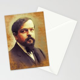 Claude Debussy, Music Legend Stationery Cards