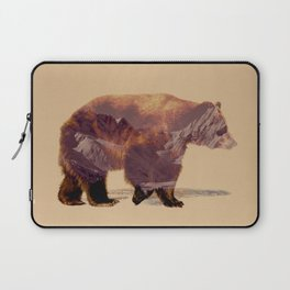 Glacier Grizzly Laptop Sleeve