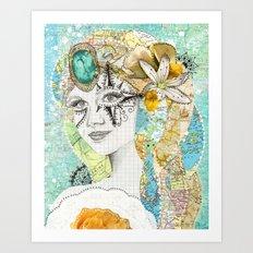Odessa Art Print