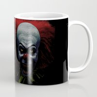 pennywise Mugs featuring Pennywise by John Medbury (LAZY J Studios)