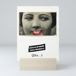 Shh... Mini Art Print